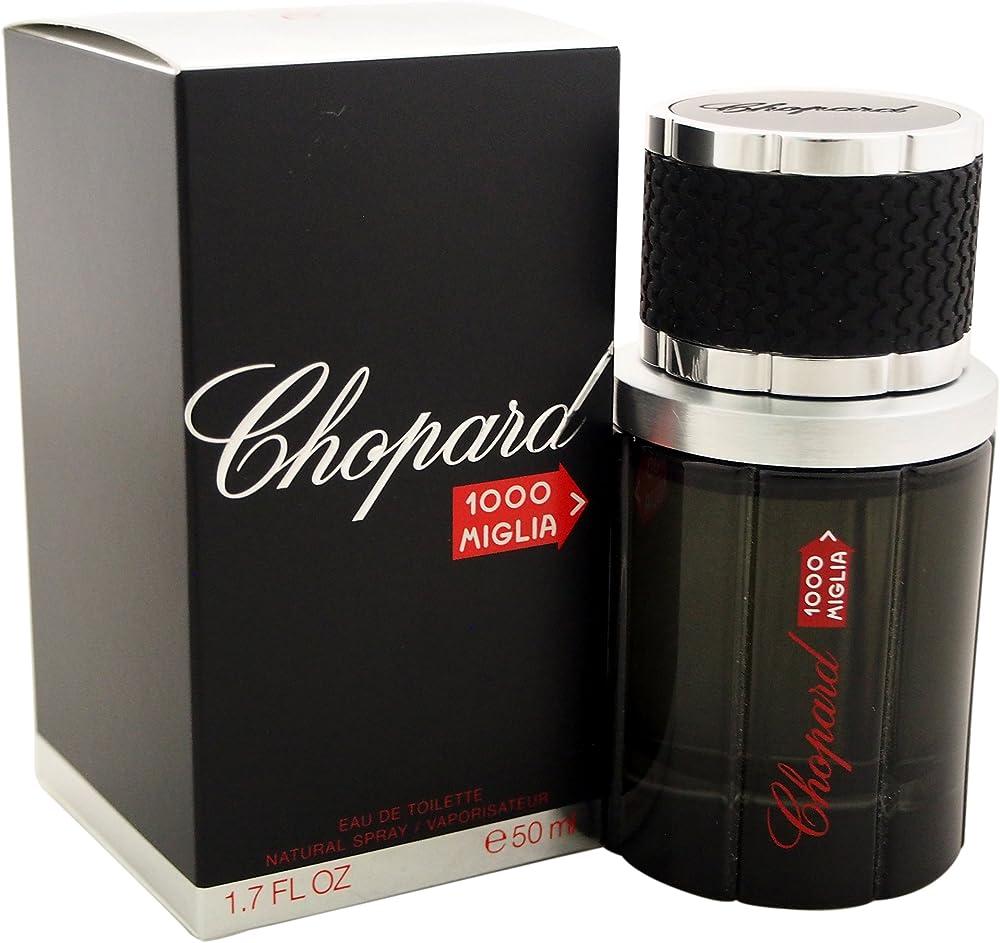 Chopard 1000 miglia, eau de toilette,profumo per uomo,  spray , 50 ml 10002244