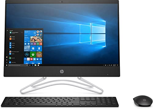 HP Core i3 8th Gen 21.5-inch FHD AIO PC (4GB/1TB HDD/Windows 10/MS Office/Jet Black/5.39kg), 22-c0028in