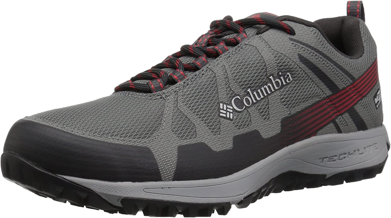 Columbia Herren Conspiracy V Outdry Trekking-& Wanderhalbschuhe, Ti grau Steel Bright rot  | Vorzugspreis