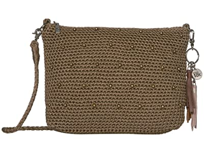 The Sak Casual Classics 3-in-1 Demi (Taupe Sparkle Beads) Handbags