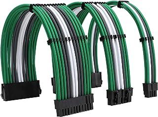 مجموعة كابلات إمداد الطاقة من FormulaMod Sleeve Extension 18AWG ATX 24P+ EPS 8-P+PCI-E8-P مع أمشاط لجهاز PSU إلى اللوحة ال...