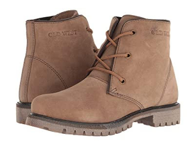 Old West Boots City (Taupe) Women