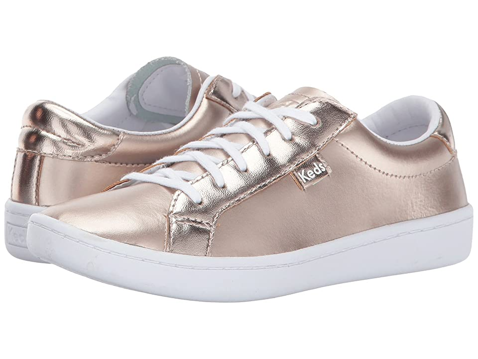 Keds Kids Ace (Little Kid/Big Kid) (Rose Gold) Girl