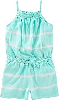 Osh Kosh Girls' Sleeveless Romper