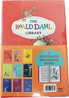 The Roald Dahl Library 9 ILLUSTRATED HARDCOVER BOOKS