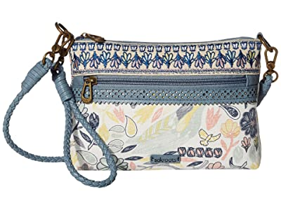 Sakroots Artist Circle Campus Mini (Multi Peace Birds) Cross Body Handbags
