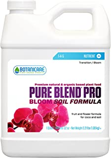 botanicare pure blend pro bloom 1 4 5