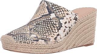 Charles David Women's Espadrille Sandal Platform, Natural