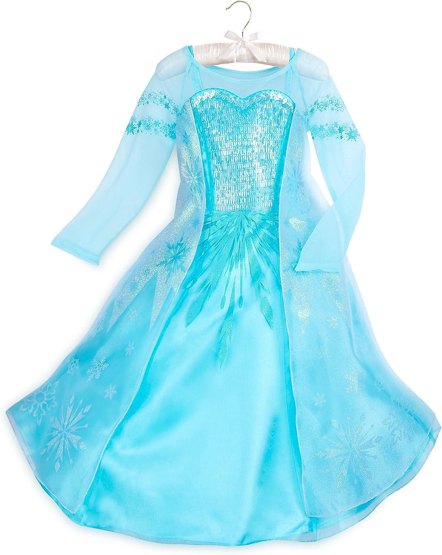 Disney Elsa Costume for Kids Super-cheap Frozen - low-pricing Size 4 Blue