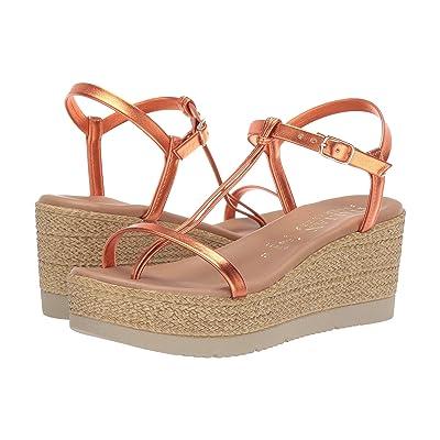 Italian Shoemakers Tatiana (Orange Metallic) Women