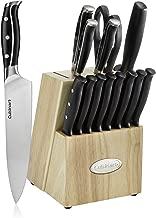 Cuisinart C77TRN-15P Nitrogen Collection 15-Piece Knife Block Set, Black