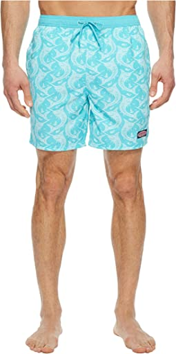Vineyard Vines Marlin Out of Water Chappy Swim Trunk