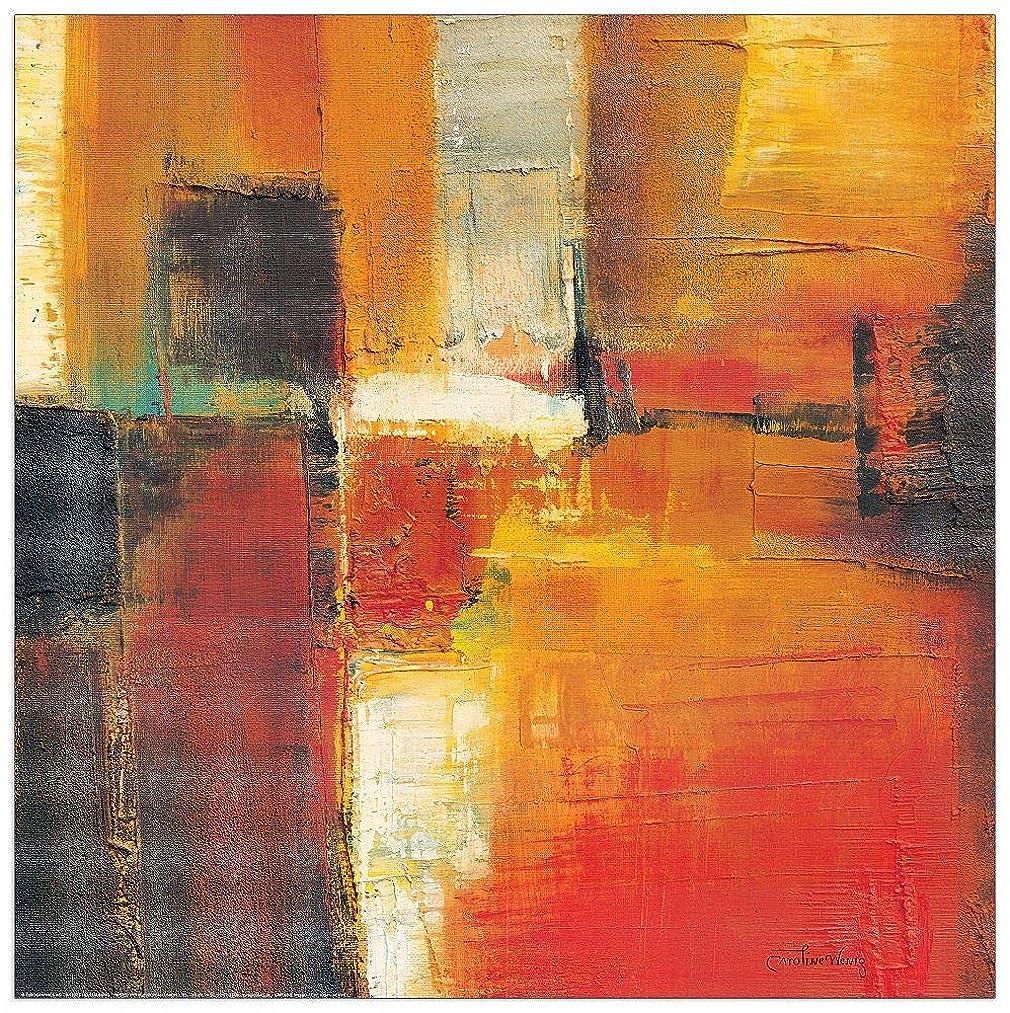 Artopweb TW20157 Decorative Panel 27.5x27.5 Inch Multicolored