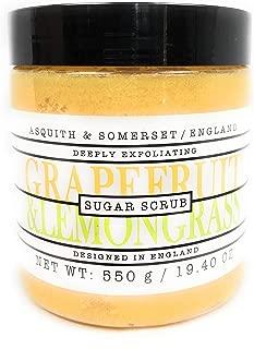 Asquith & Somerset Grapefruit & Lemongrass Sugar Scrub 19.4 OZ.