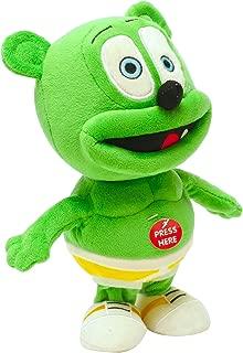 ToyKidz Gummibär Running & Singing Gummy Bear Plush Toy, 9-Inch