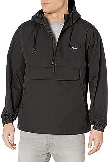 OBEY CLOTHING Men's RECESS II ANORAK, Black, Large