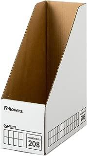 フェローズ マガジンファイル 208 A4サイズ 黒 3枚1セット ファイルボックス 2080101
