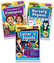 Early Literacy DVD Collection - Letter Sounds Phonics for Beginners, Getting Ready for Kindergarten, Nursery Rhymes