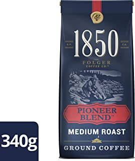 Folgers 1850 Pioneer Blend, Ground Coffee, 340g/12oz., {Imported from Canada}