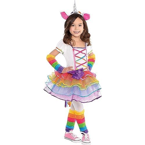 9922e4e034ed8 Child Rainbow Unicorn Costume Age AGE 3 - 4 YEARS