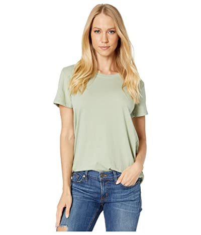 Hurley Solid Perfect Crew T-Shirt Short Sleeve (Jade Horizon) Women