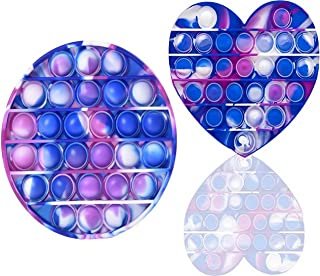 ZENFOCUS Pop Bubble, Pop it, Push Pop Bubble sensoriel, Push Pop, Bubble pops, Fidget Toys Pack, Fidget Toy Sensory, Cube ...