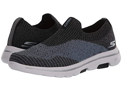 SKECHERS Performance Go Walk 5 Merritt (Black/Blue) Men