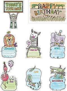 Creative Teaching Press Mini Bulletin Board Safari Friends Happy Birthday Ctp 2179 with