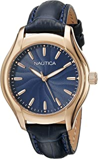 Women's NAD12002M NCT 18 MID Analog Display Quartz Blue Watch