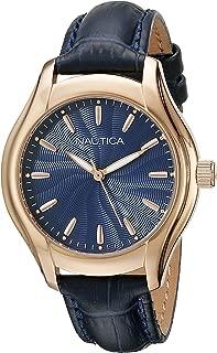 Nautica Women's NAD12002M NCT 18 MID Analog Display Quartz Blue Watch