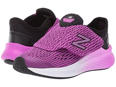 New Balance Kids Fresh Foam Fast (Infant/Toddler) (Black/Voltage Violet) Girls Shoes