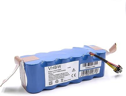 Batteria vhbw NiMH 3000mAh (14.4V) per aspirapolvere Ariete Briciola 2712, 2717 come LP43SC2000P.