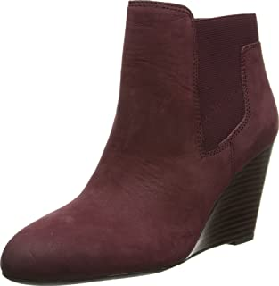 أحذية نسائية طويلة حتى الكاحل وتدي من Franco Sarto Octagon من جلد كوردوفان 7