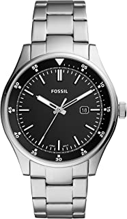 Fossil Men's Quartz Wrist Watch analog Display and Stainless Steel Strap, FS5530