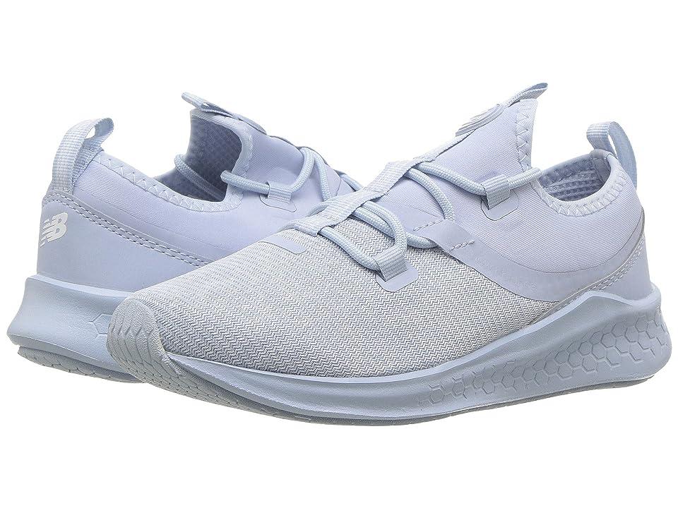 New Balance Kids KJLAZv1P (Little Kid) (Ice Blue/White) Kids Shoes