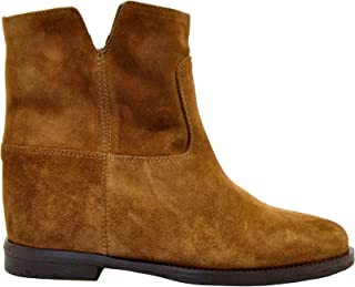 VIA ROMA 15 Luxury Fashion Womens M1626 Brown Ankle Boots | Fall Winter 19