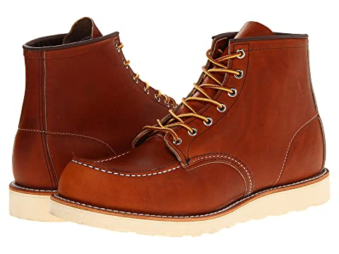 Red Wing Heritage 6 Quot Moc Toe At Zappos Com