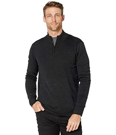 Smartwool Sparwood 1/2 Zip Sweater (Charcoal Heather) Men