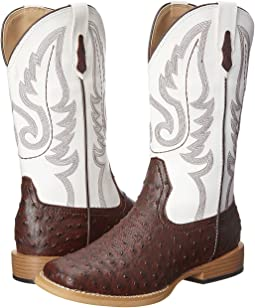 Western Square Toe Boot (Big Kid)