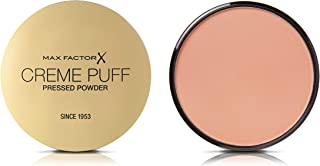 Max Factor Creme Puff, Pressed Compact Powder, 55 Candle Glow, 21 g