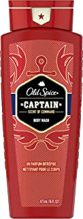 Old Spice Red Collection Captain Scent Body Wash for Men, 16.0 Fluid Ounce (Pack of 4)