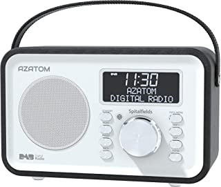 Spitalfields Retro DAB/DAB+ Digital FM Portable Radio/Alarm