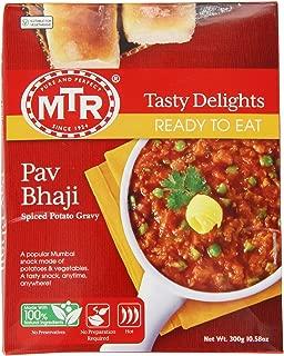 MTR Pav Bhaji, 10.5-Ounce Boxes (Pack of 10)
