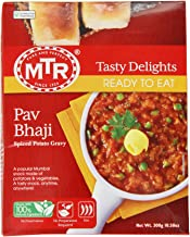 MTR Pav Bhaji, 10.5-Ounce Boxes (Pack of 10)