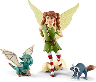 Schleich bayala, The Fairy Princess and the Unicorn Movie Figurine 3-Piece Playset, Fairy Toys for Girls and Boys 5-12 yea...