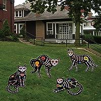4-Pack Fanboxk Halloween Cat Silhouette Yard Signs Deals