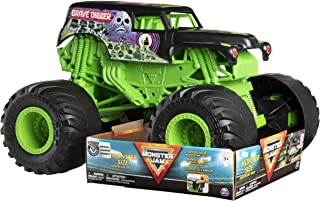 Monster Jam, Monster Size Grave Digger Monster Jam Truck, 1:10 Scale