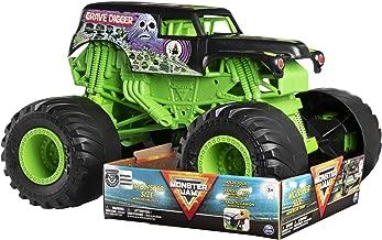 Monster Jam, Monster Size Grave Digger Monster Jam Truck, 1:10 Scale