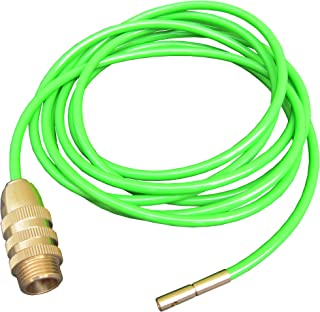 FITOOL Drain Cleaner, Bathroom Clog Remover, High Pressure Pipe Cleaner, Duct Unblocker, 10ft Hose, Solid Brass Fittings
