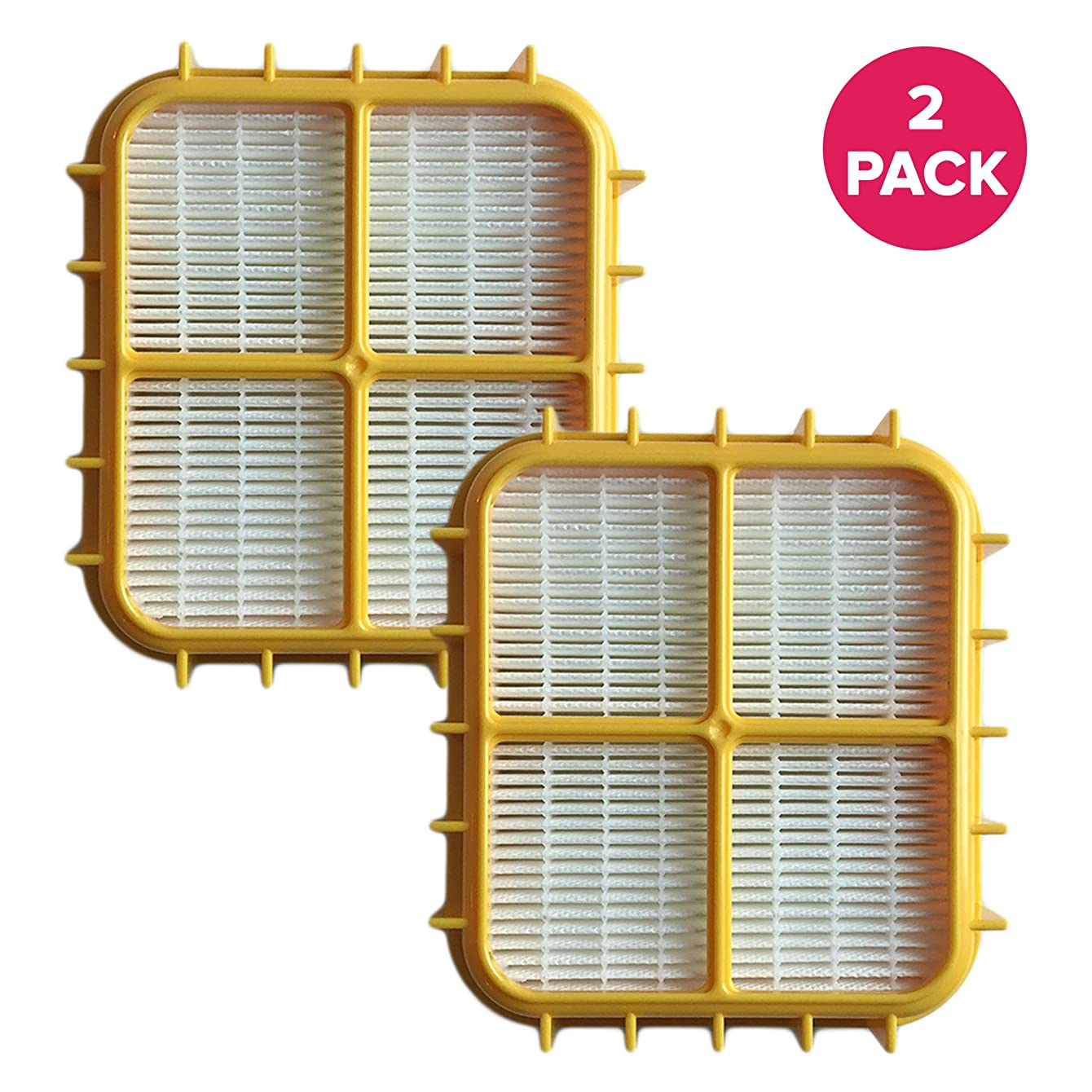 Think Crucial 2 Replacements for Eureka HF-10 HEPA Filter Fits 8800, 8850 & 8900 Series, Compatible With Part # 63347, 633489, 67810-2, H14017 & 63358